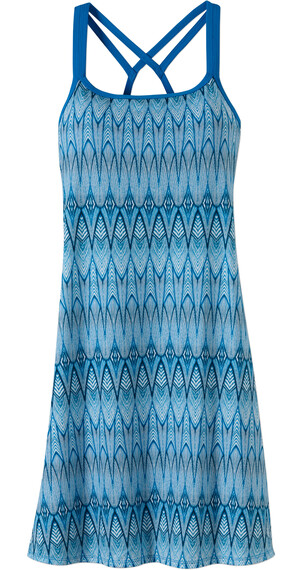 Prana W's Cora Dress Blue Feather